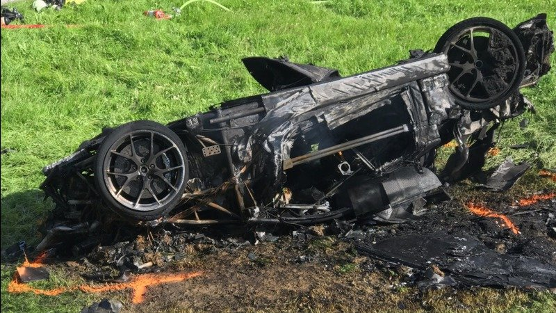 The FIA Wants Answers From Richard Hammond's Car Crash