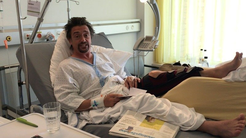 Richard Hammond Recovering From Surgery After Surviving Fiery Crash - image 719705