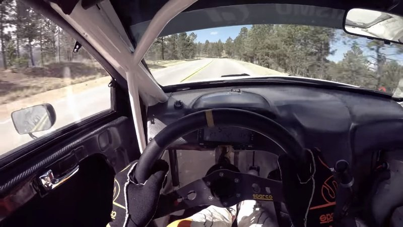 Ride Along With Rhys Millen As He Tackles The 2017 Pikes Peak Hill Climb: Video