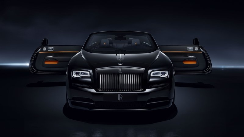 2017 Rolls Royce Dawn Black Badge