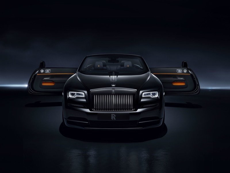 2017 Rolls Royce Dawn Black Badge Exterior High Resolution Wallpaper quality - image 721675