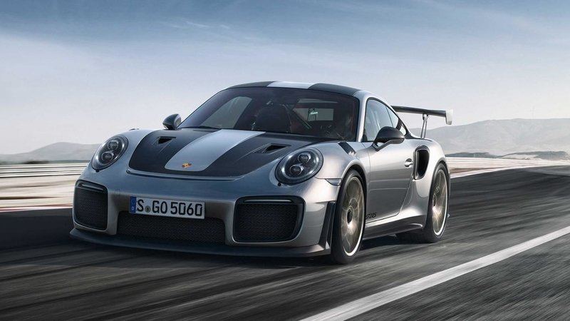 Someone Ruined Porsche's Big Day by Leaking Official Images of the 911 GT2 RS