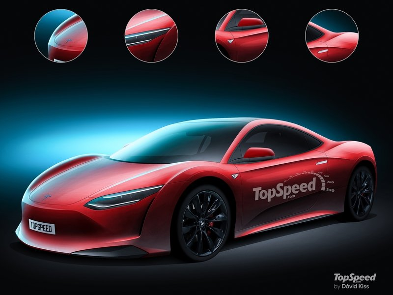 2020 Tesla Supercar Exclusive Renderings Computer Renderings and Photoshop Exterior - image 721328