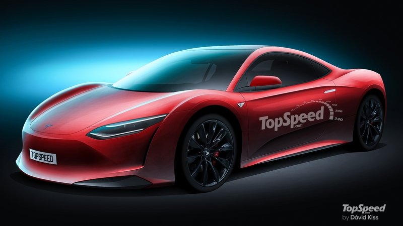 2020 Tesla Supercar Exclusive Renderings Computer Renderings and Photoshop Exterior - image 721630