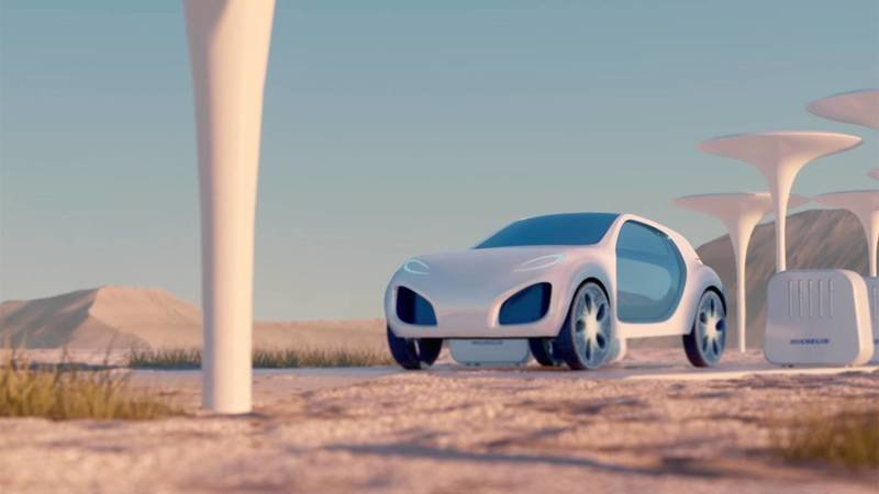 The Michelin Visionary Concept Tire Could be a Game Changer