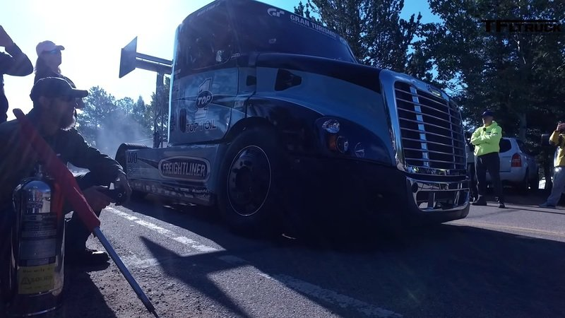This 2,400-Horse Freightliner is Probably the Strangest Pikes Peak Contender