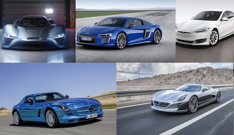TopSpeed's Top 5 All-Electric Performance Cars
