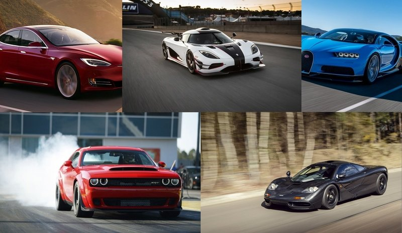TopSpeed's Top 5 Street Cars With Ridiculous Spec Sheets