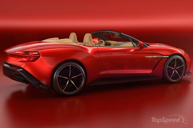 2017 Aston Martin Vanquish Zagato Volante Exterior High Resolution - image 724927