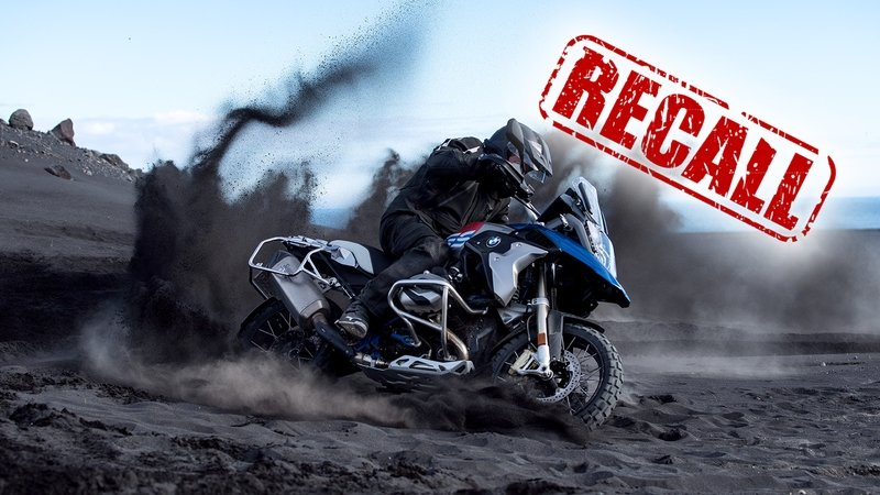 BMW Recalls R1200 GS and R 1200 GS Adventure