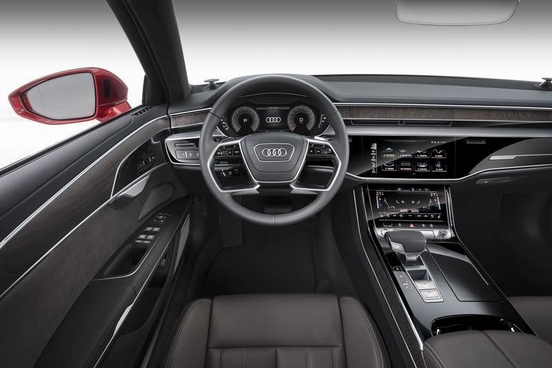 New Audi A8 Will Launch Company S New Dashboard Technology Top Speed