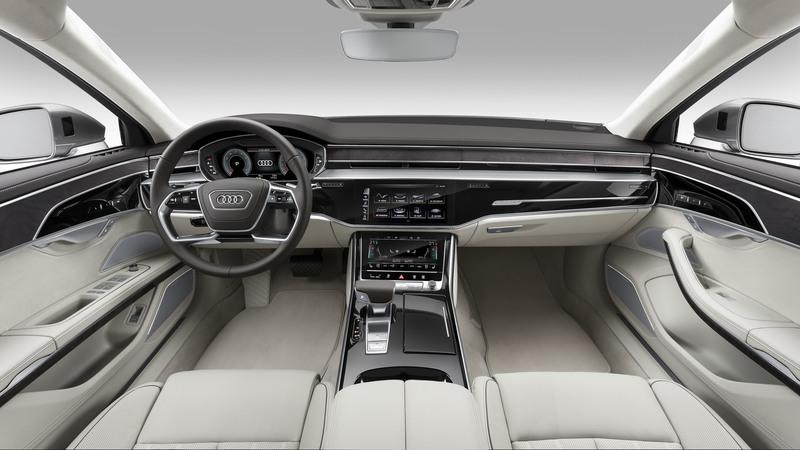 New Audi A8 Will Launch Company's New Dashboard Technology