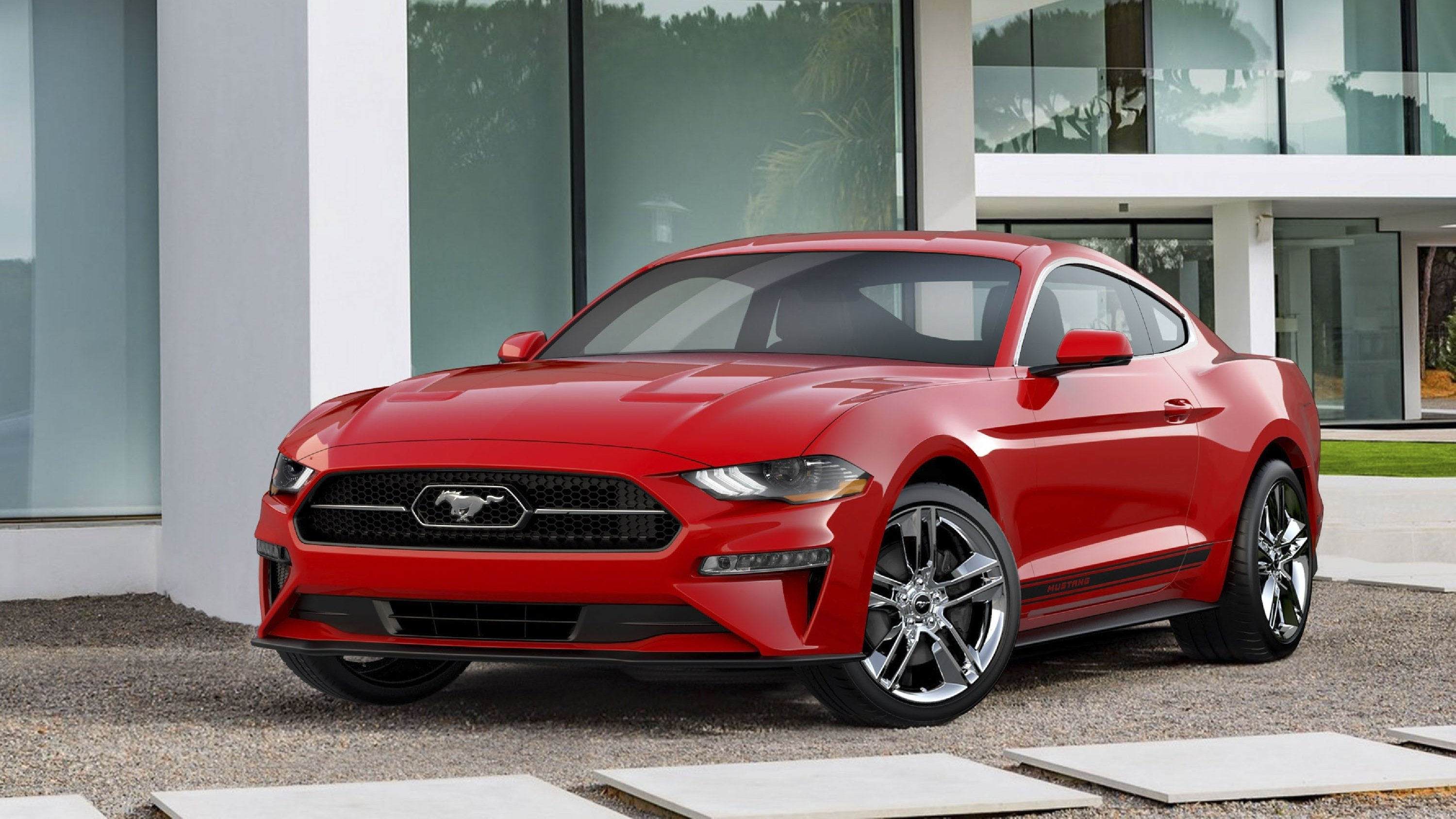 2018 ford mustang ecoboost gets a new pony package top speed howldb. Black Bedroom Furniture Sets. Home Design Ideas