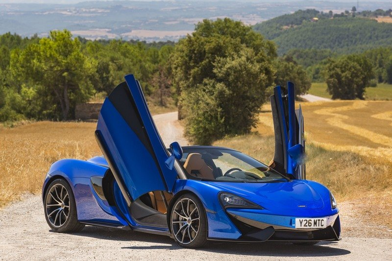 2018 mclaren 570s spider | top speed