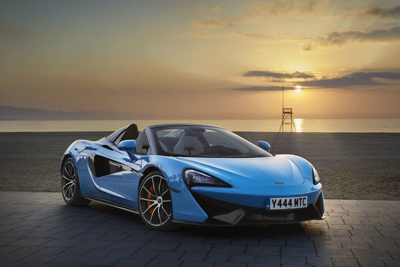 2018 McLaren 570S Spider Exterior High Resolution Wallpaper quality - image 724562