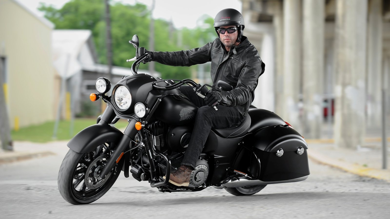 Indian Scout Motorcycle Touring