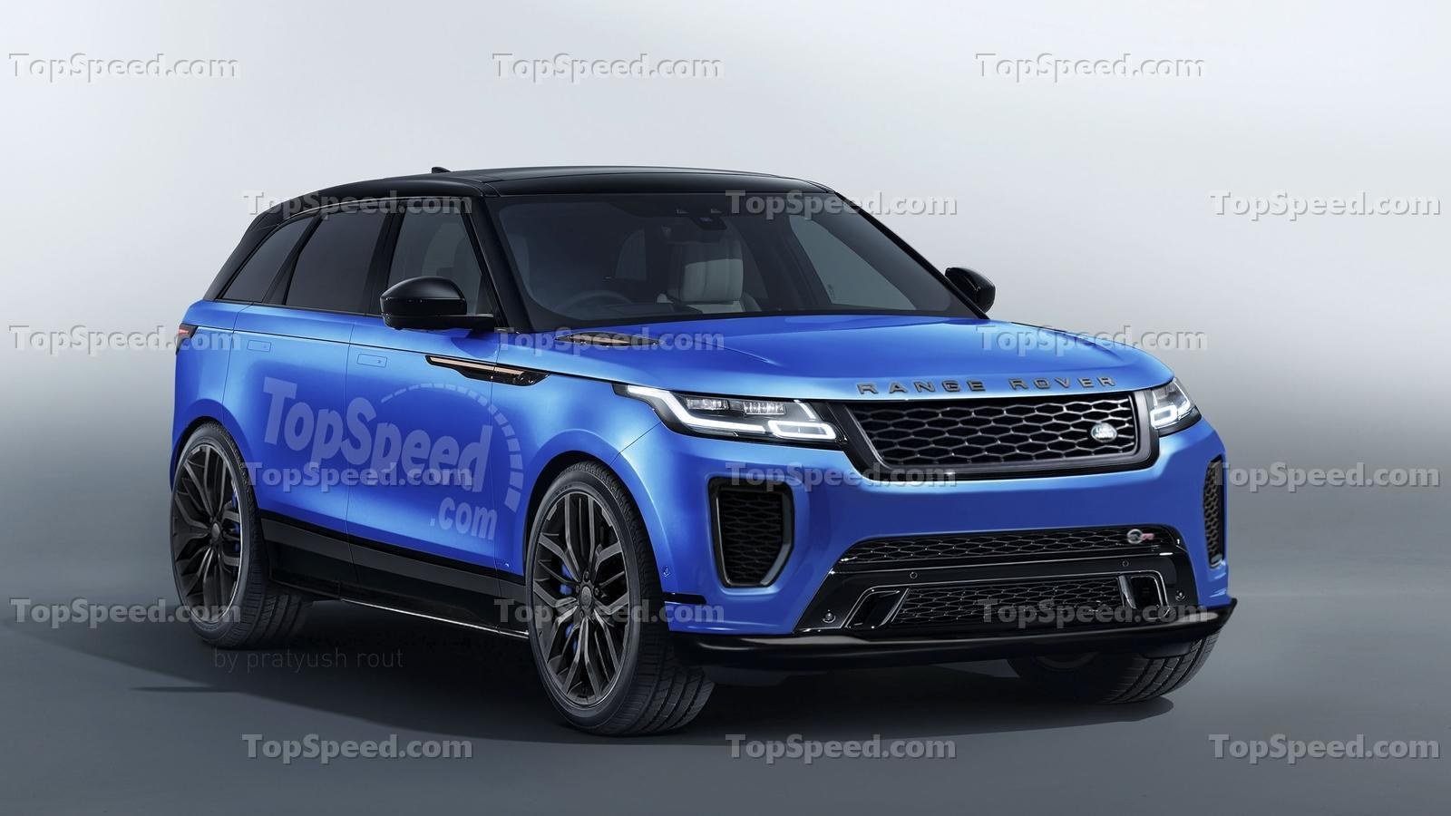 2019 land rover range rover velar svr review top speed. Black Bedroom Furniture Sets. Home Design Ideas