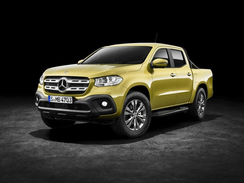 2018 Mercedes-Benz X-Class High Resolution Exterior - image 723959