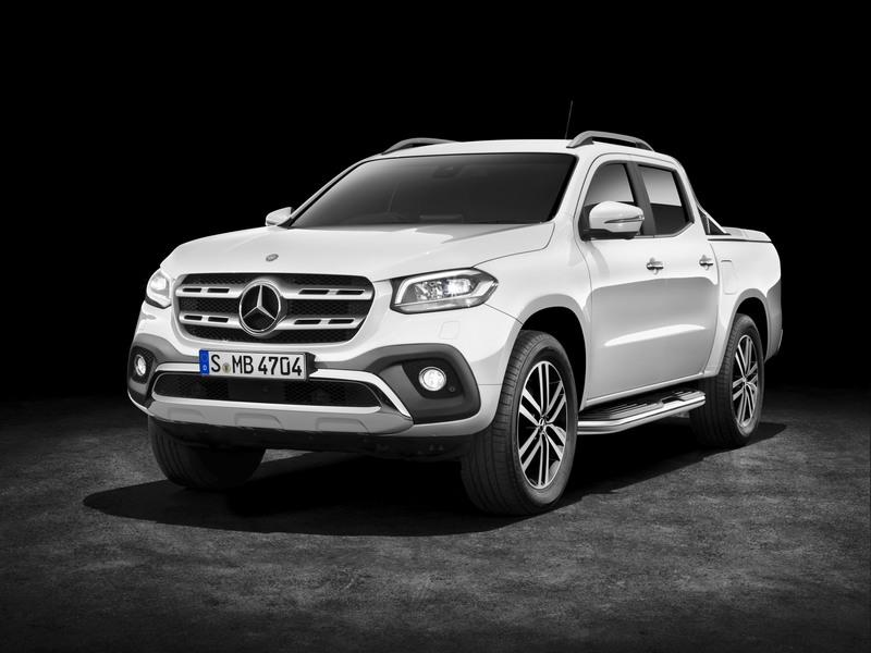 2018 Mercedes-Benz X-Class High Resolution Exterior - image 723963