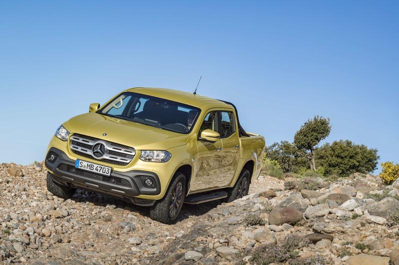 The X-Class Pickup Just Taught Mercedes That You Can't Polish a Turd into a Diamond