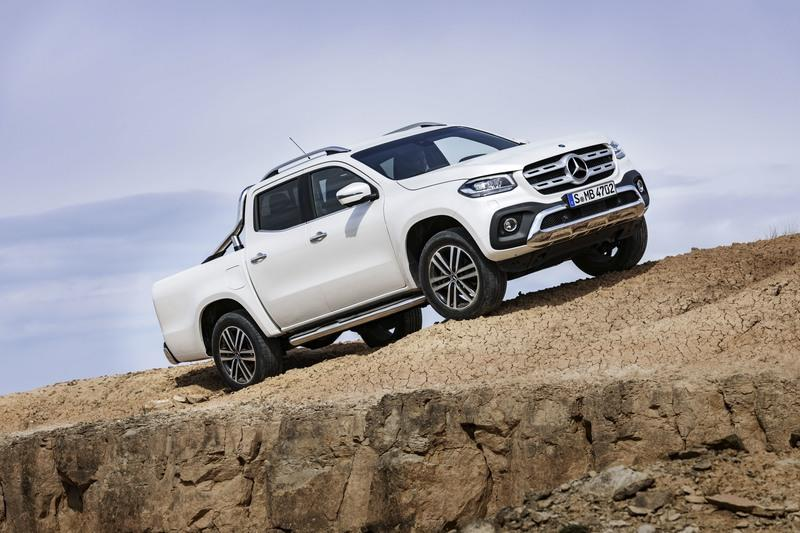 2018 Mercedes-Benz X-Class High Resolution Exterior - image 723955