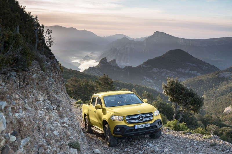 If Mercedes Drops Diesel in the U.S., the new X-Class Becomes Under-powered and Obsolete