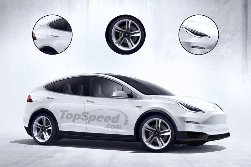 2020 Tesla Model Y Computer Renderings and Photoshop Exterior Exclusive Renderings - image 722132