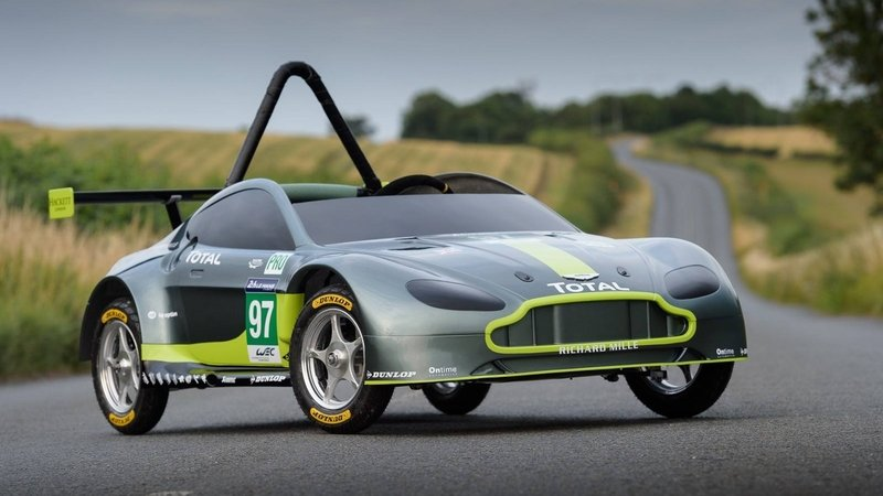 Aston Martin's Gravity-Powered Vantage GTE Soapbox Is A Winner In Our Books