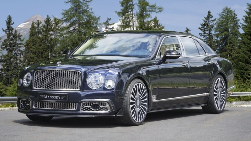 2017 Bentley Mulsanne by Mansory