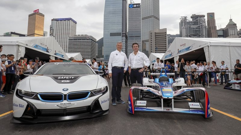 BMW Confirms FIA Formula E Championship Entry