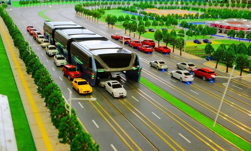 China's Elevated Bus Project Was A Scam After All