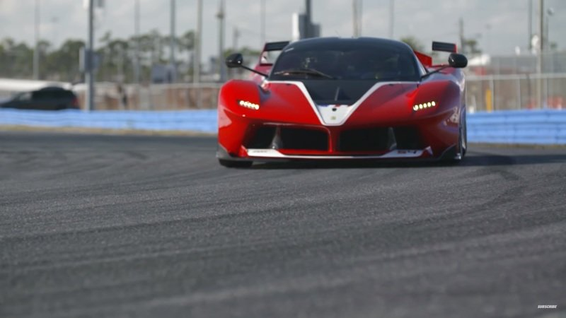 Chris Harris Drives The LaFerrari FXX K, Goes A Bit Mad: Video