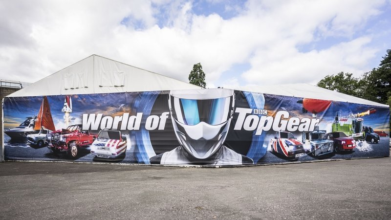 Chris Harris Opens Revamped World of Top Gear