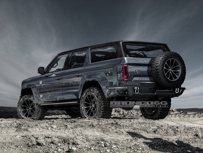 Here's What the 2021 Ford Bronco Could Look Like if It Was Inspired More By the Original - image 722991