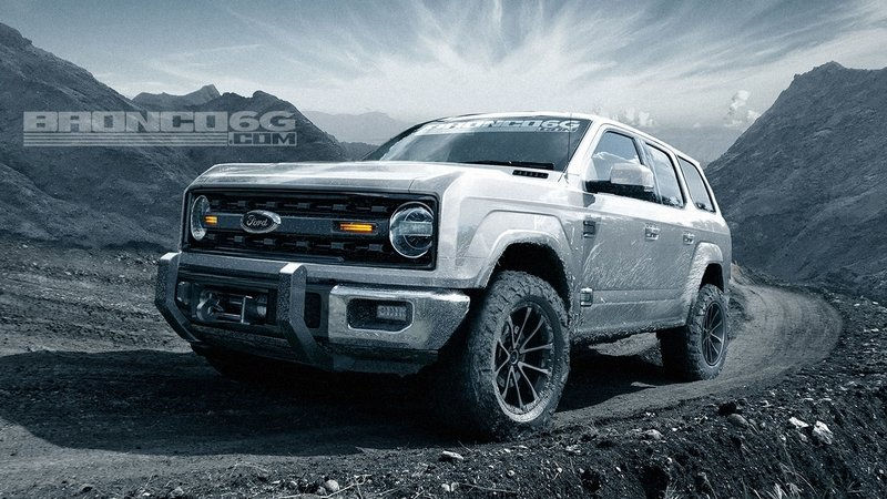 Here's What the 2021 Ford Bronco Could Look Like if It Was Inspired More By the Original