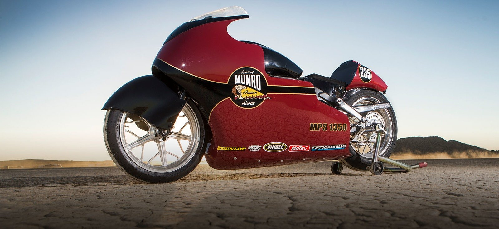 Land Speed Record >> Facts About The Motorcycle Indian Will Use To Break Records At Bonneville This Weekend. | Top Speed