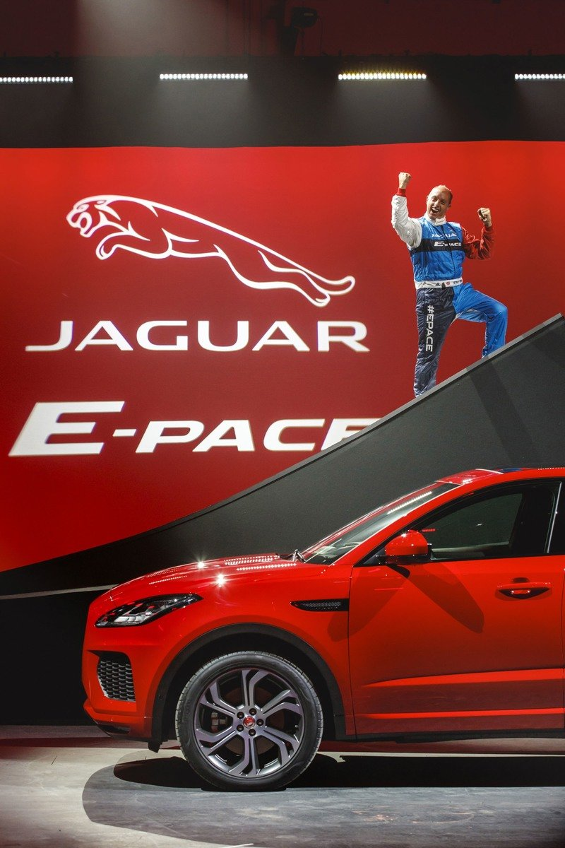 Jaguar E-Pace Sets Record For Farthest Barrel Roll in a Production Vehicle