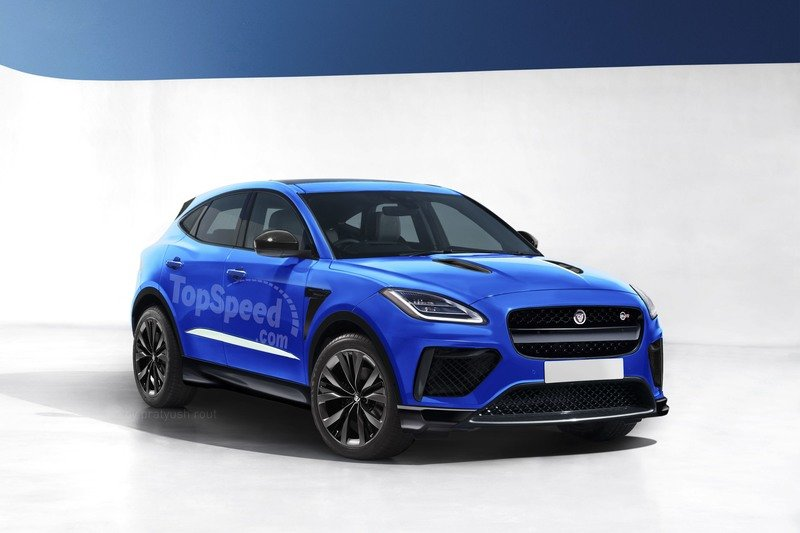 2019 Jaguar E-Pace SVR Exclusive Renderings Computer Renderings and Photoshop Exterior - image 724402