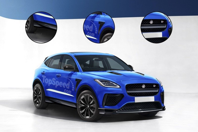 2019 Jaguar E-Pace SVR Exclusive Renderings Computer Renderings and Photoshop Exterior - image 724401