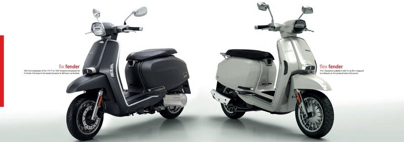 A Lambretta called 'V-Special' has just entered the 21st century. Exterior - image 723124