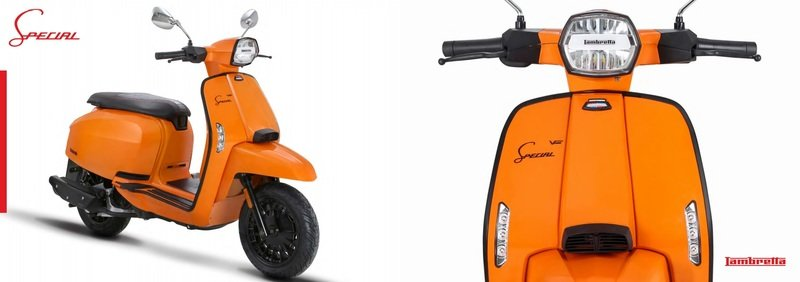 A Lambretta called 'V-Special' has just entered the 21st century. Exterior - image 723125