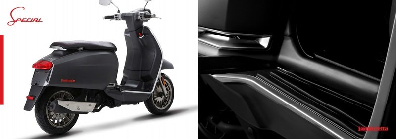 A Lambretta called 'V-Special' has just entered the 21st century. Exterior - image 723116