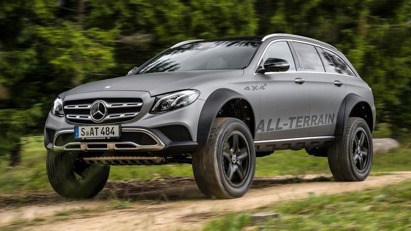 2017 Mercedes-Benz E-Class All-Terrain 4x4² Wagon