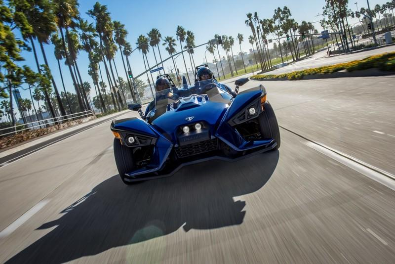 Polaris Slingshot announced its 2018 line-up of three wheeled roadsters with enhanced performance and styling.