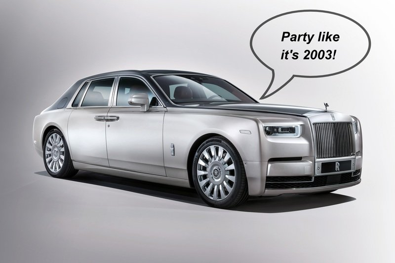 Pops' Rants: The New Rolls-Royce Phantom Is Already 10 Years Old