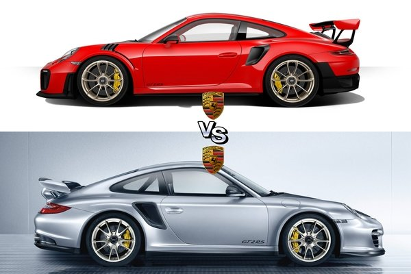 porsche 911 gt2 rs new vs old news top speed. Black Bedroom Furniture Sets. Home Design Ideas