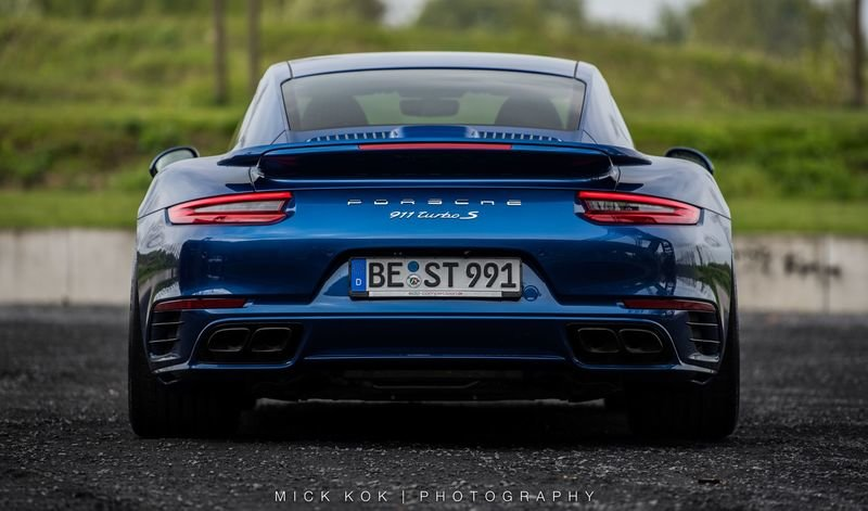 2017 Porsche 911 Turbo S Blue Arrow by Edo Competition High Resolution Exterior - image 724492
