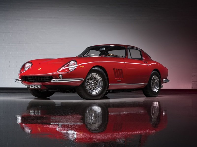 RM Sotheby's Will Offer a Stunning Collection of Ferraris in Monterey This Year