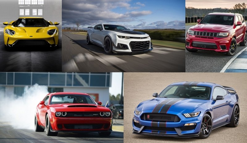 Six of America's Baddest Muscle Machines