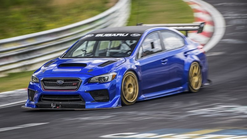 Subaru WRX STI Type RA NBR Special Is Now The Fastest Four-Door Sedan Around The Nürburgring